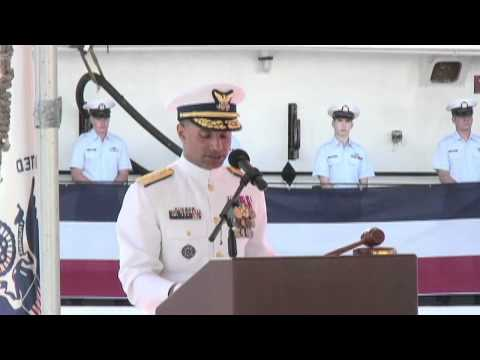 Coast Guard Cutter Hamilton decommissioning ceremony