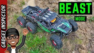 Virhuck V02 1/12 Scale 6WD Brushless RC Off Road Truck Review and Test