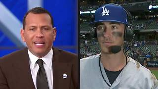 Cody Bellinger Postgame Interview   Dodgers vs Brewers NLCS Game 2
