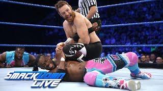 HINDI - Kofi Kingston vs. Sami Zayn: SmackDown LIVE, 7 November, 2017