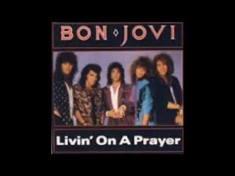 Karaoke(mp3)Livin' On A Prayer by Bon Jovi