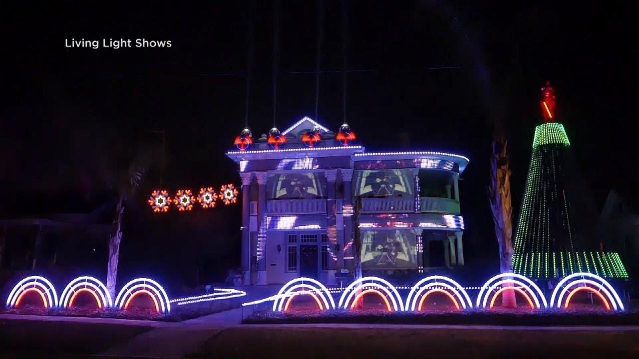 Christmas Light Shows Near Me.Texas Family Puts Up Epic Star Wars Holiday Lights Display