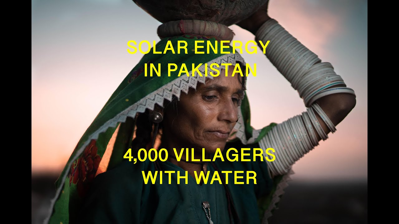 Projects   Solar Water Wells for 4,000 Villagers in Pakistan