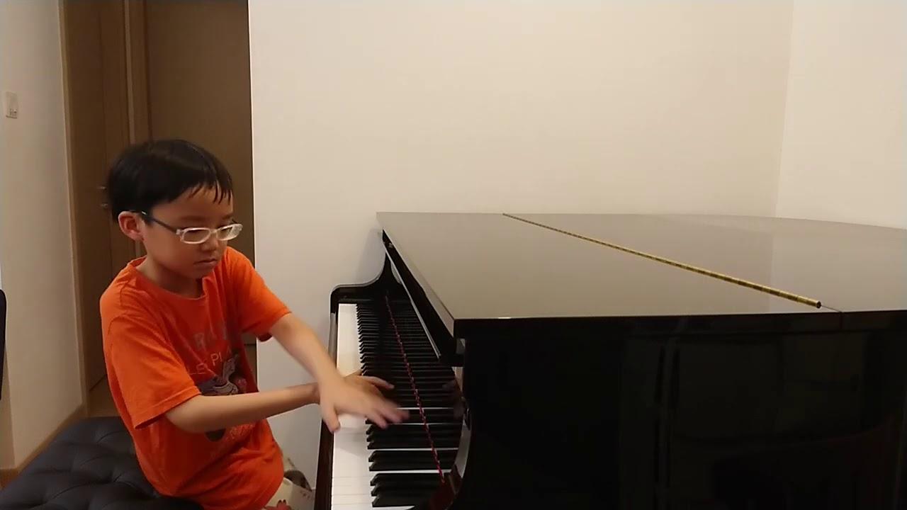 Hungarian Rhapsody No.2 of Liszt (李斯特 第2號匈牙利狂想曲), by Jonah Ho (age 9)