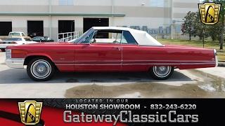 1968 Chrysler Imperial Gateway Classic Cars #563 Houston Showroom