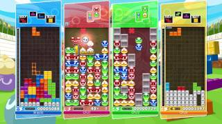 CSG Quick Look: Puyo Puyo Tetris | Switch Gameplay