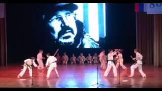 Алексею Балабанову посвящаетя выступление секции Кобудо