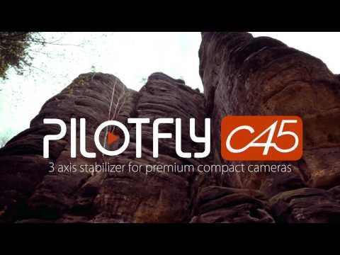 PILOTFLY C45 - 3 Axis Gimbal for Premium Compact Cameras