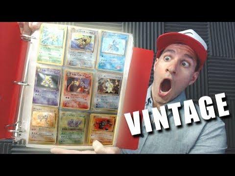 MOM FOUND MY ORIGINAL POKEMON CARD BINDER Filled With RARE VINTAGE POKEMON CARDS