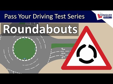 Roundabouts Driving Lesson UK - Pass Your Driving Test Series