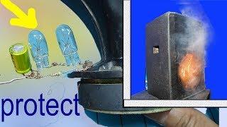 Cách kết nối dàn karaoke, chống cháy loa treble đơn giản, tweeter protection bulb