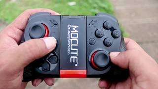 MOCUTE 050 Gamepad for Android/IOS/PC Bluetooth Gaming Controller Review!