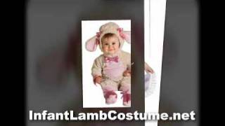 Adorable Infant Lamb Costume For Kids & Toddlers On Halloween