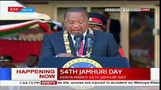 President Uhuru Kenyatta's full speech during Jamhuri day celebrations at Moi Kasarani stadium