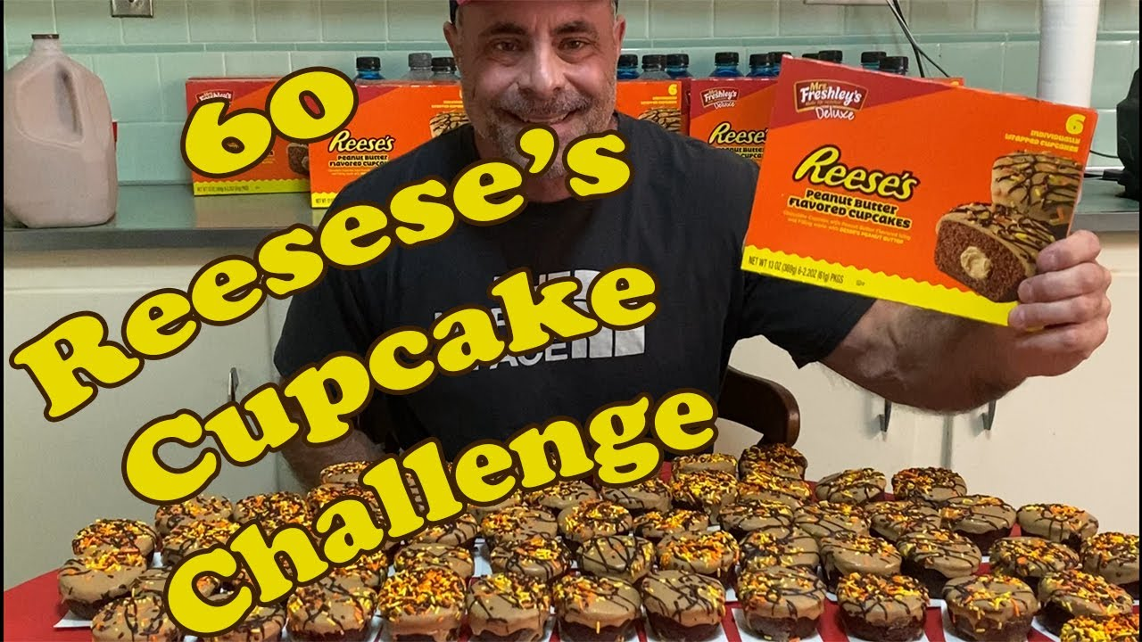 60 Reese's Peanut Butter Cup Challenge