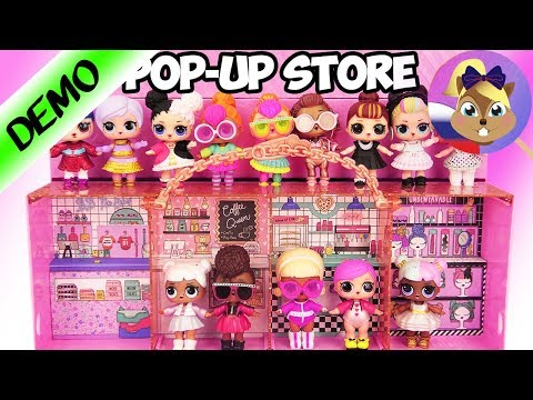 L.O.L. SURPRISE POP-UP STORE  3 в 1  | Магазин - дисплей ЛОЛ + Эксклюзивная Кукла Инстаголд