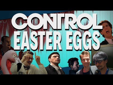 CONTROL  |  EASTER EGGS, REFERENCES and SECRETS!