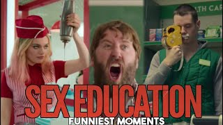 Sex Education (Season 2) - Funniest Moments (Otis, Eric, Maeve, Adam, Viv) | Humor