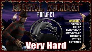 🔴 Mortal Kombat Project Season 2 - 4.1 (MUGEN) MKP │Zerando no VERY HARD 8 !