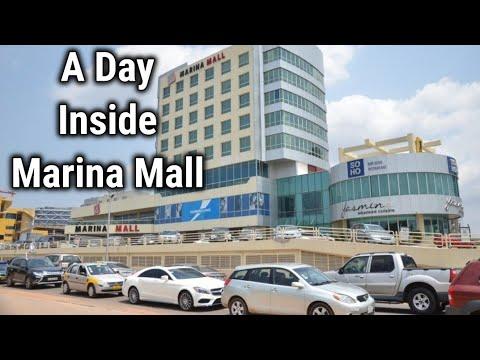 Ghana Vlog: This What Marina Mall Accra Ghana Looks Like