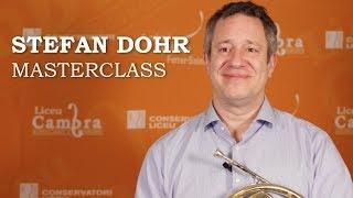 Masterclass con Stefan Dohr - Ciclo Liceu Cambra