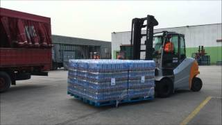 Multi Pallet Handler for 6-4-2 Pallet at a time - Bolzoni Aura…