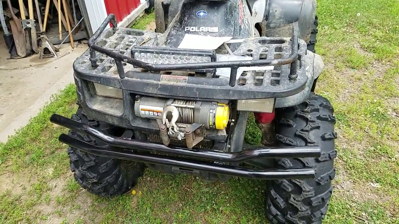 hight resolution of how to install a polaris double tube front bumper on a 2003 polaris sportsman 700