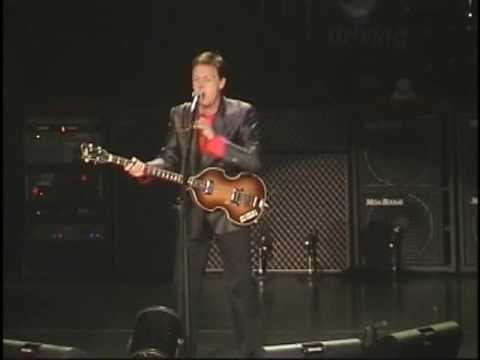 Paul McCartney Live At The Bradley Center, Milwaukee, USA (Saturday 21st September 2002)