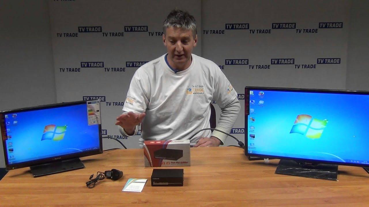 medium resolution of 2 port vga splitter