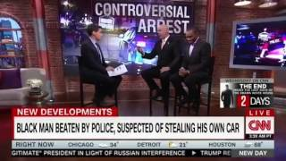 """CNN's Cop Apologist Stubbornly Ignores The Science In Panel On Black Man's Arrest For """"Stealing"""" Hi"""