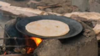Village Woman, Roti Making, Farmer's Breakfast, Hisar