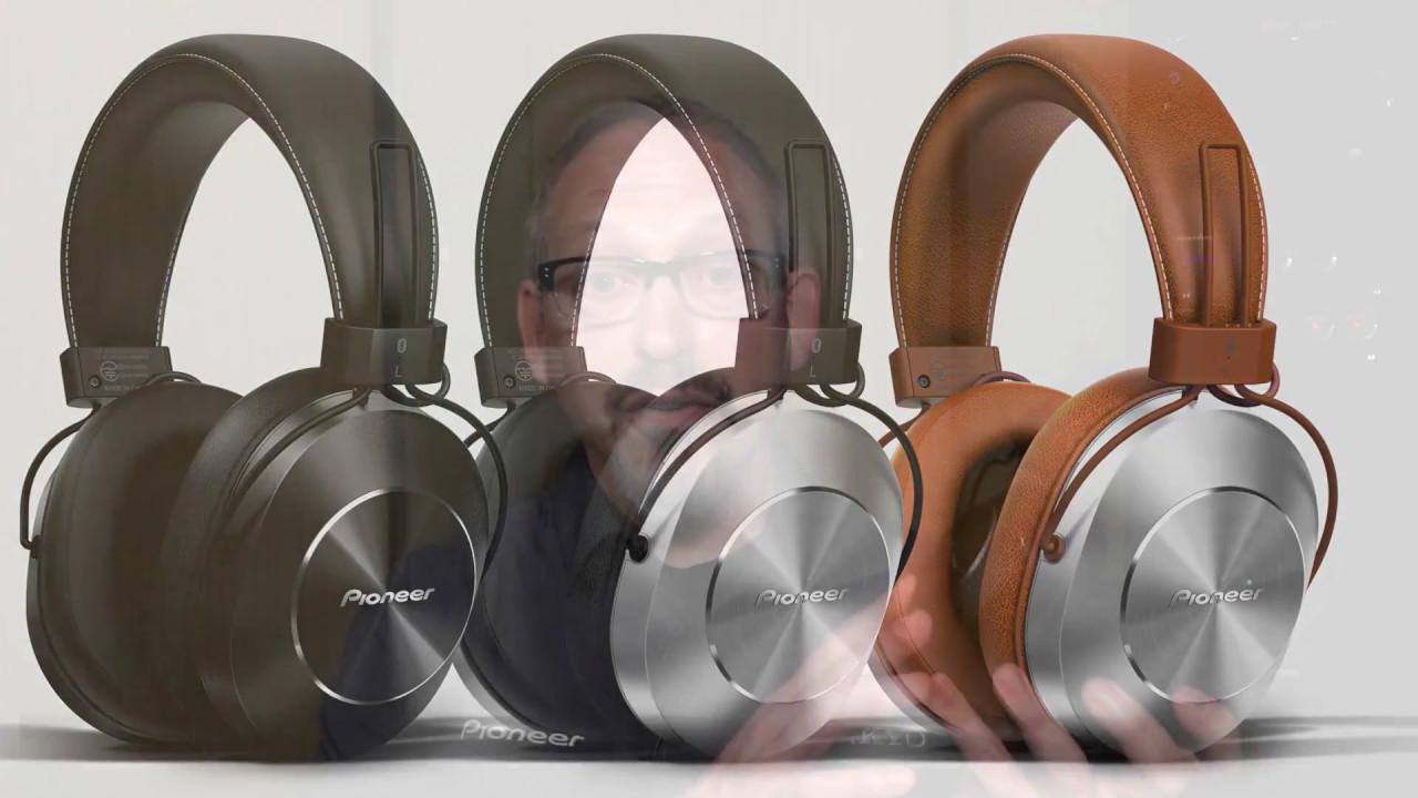 Pioneer SE-MS7BT Wireless Headphones - YouTube 796d0e1db1f8