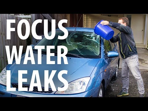 How to: Fix Ford Focus water leaks (wet passenger footwell carpet)