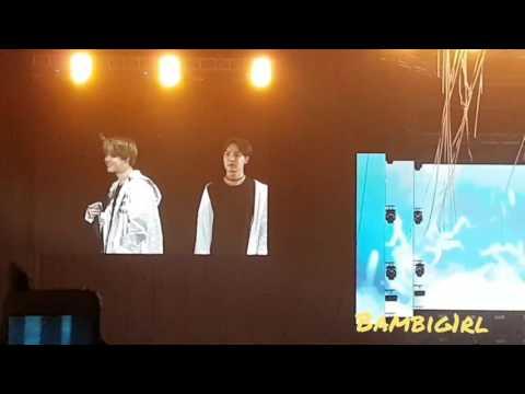 BTS Wingstour in Jakarta - Jimin & V speaking bahasa indonesia