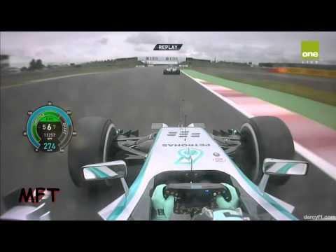 F1 2014 - Rosberg Pole Lap Silverstone[HD]