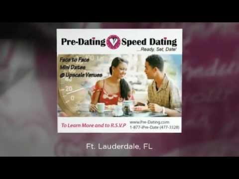 Fort Lauderdale Speed Dating Singles Events - www.Pre-Dating.com (954) 892-6019 - South Florida