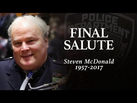 Final Salute: The funeral of NYPD Det Steven McDonald