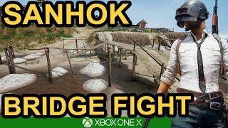 SANHOK BRIDGE BATTLE / PUBG Xbox One X