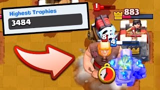 Let's Play Clash Royale #75: NEW TROPHY RECORD!