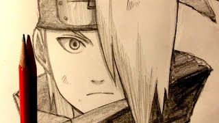 ASMR | Pencil Drawing 36 | Deidara (Request)