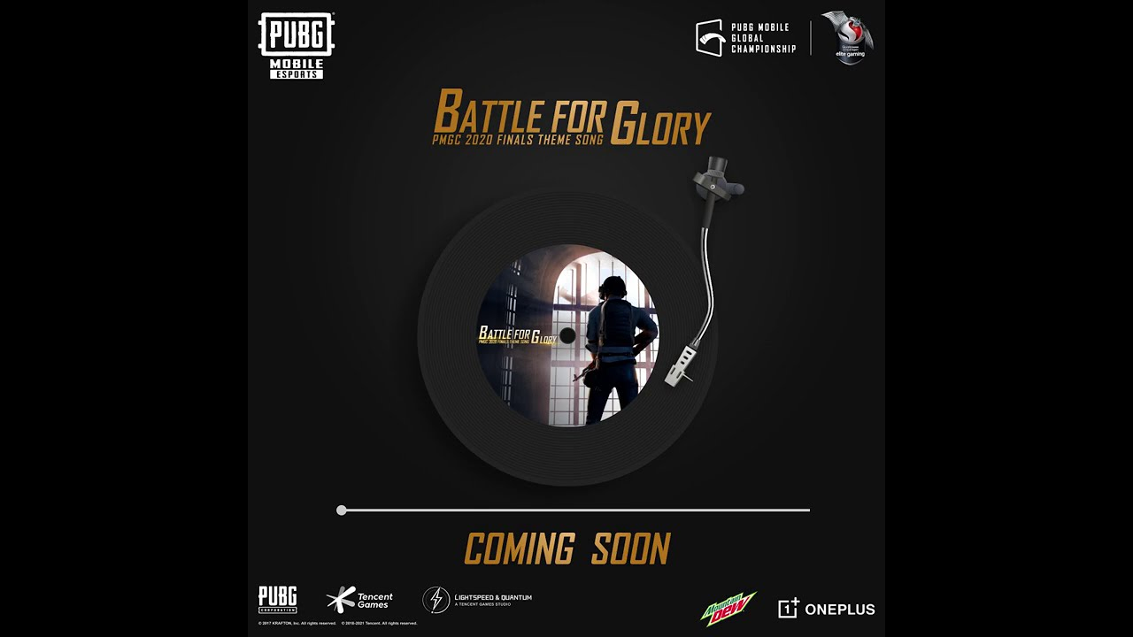 PUBG MOBILE - Battle For Glory - PMGC 2020 Finals Theme Song Teaser