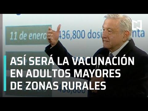 Brigadas de vacunación contra el Covid-19 en México I Vacunación a adultos mayores - En Punto