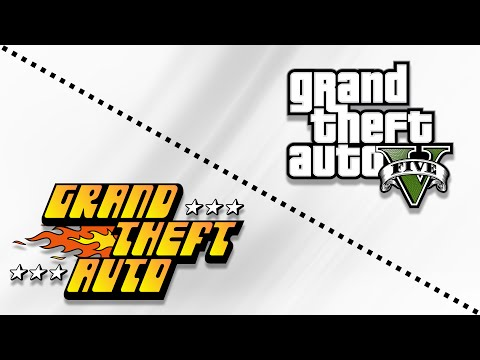 Grand Theft Auto's Logo Evolution (1997-2018)