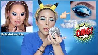 Makeup Theo Hướng Dẫn Của NIKKIETUTORIALS I TRIED FOLLOWING A NIKKIETUTORIALS MAKEUP TUTORIAL |