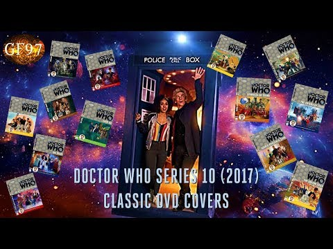 Doctor Who Series 10 (2017) Classic DVD Covers | GF97