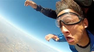 Birthday Surprise Prank! (THROWN OUT OF AN AIRPLANE)