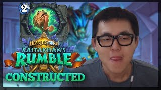 Amaz Rastakhan's Rumble CONSTRUCTED Compendium | FULL CARD REVIEW For New Hearthstone Expansion