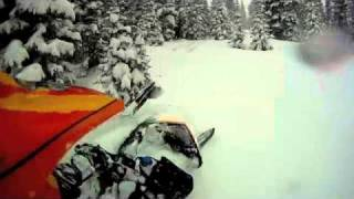 ski doo summit 800 in deep powder Thumbnail