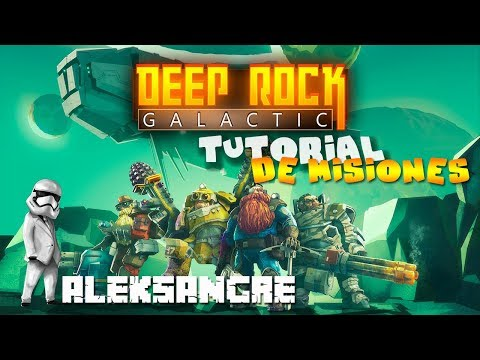 Deep Rock Galactic #1 - Tutotrial de misiones - LET´s PLAY ESPAÑOL HD Best Gameplay