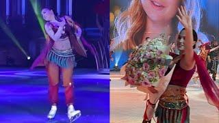 СПАСИБО Алина Загитова устроило шоу с балалайкой и поблагодарила поклонников